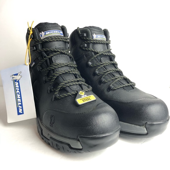 Nwt Michelin Hydroedge Steel Toe Boots